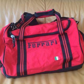 【Ferrari】ボストンバッグ