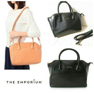 THE EMPORIUM*2wayシンプルボストンbag