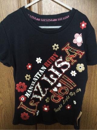 リズリサTシャツ