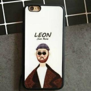 レオン 光沢ホワイト iPhoneケース  ホワイト