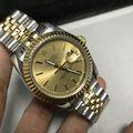 ロレックス メンズ腕時計 機械自動巻き 36 ゴールド文字