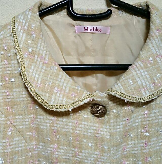 Marblee ツィードジャケット Mサイズ