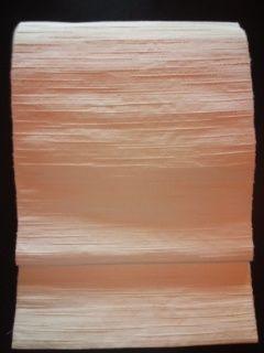 オフ白/横筋*紬ナゴヤ帯正絹中古美品300
