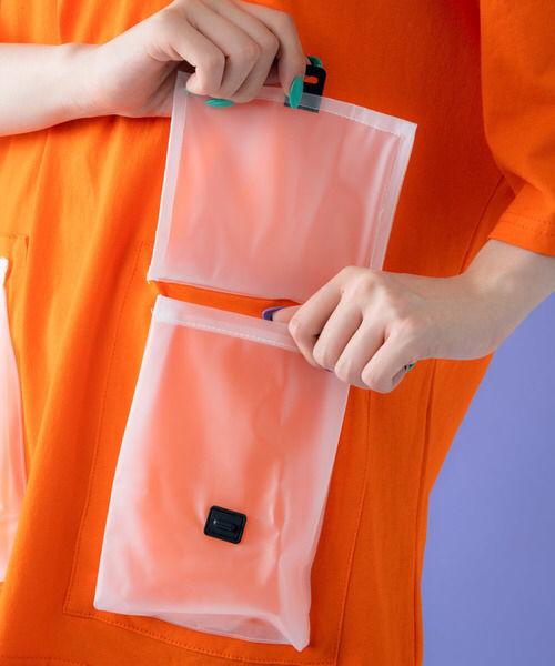 定価3,850円クリアポケット付き!カラーTシャツ