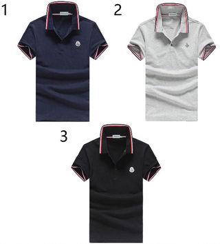 高品質新品MONCLER /モンクレールポロシャツ男性用3色