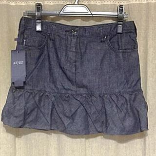 新品 タグ付きアルマーニ ジーンズ ミニスカート