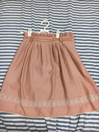 プライムパターン 膝丈スカート