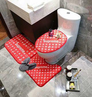 トイレ蓋カバー 3点セット5403円  国内発送