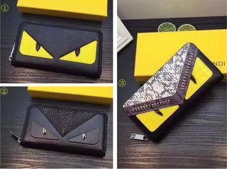FENDI新品 人気美品 男女兼用 ジッピー長財布3種類