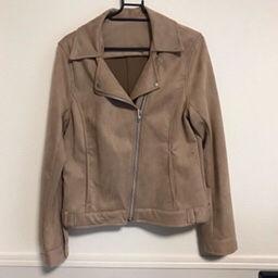 2046/ スウェード ライダースジャケット