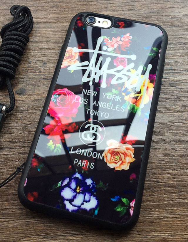540ce360d0 ... STUSSY iPhone7ケース 鏡面花柄ピンク - フリマアプリ&サイトShoppies[ショッピーズ] ...