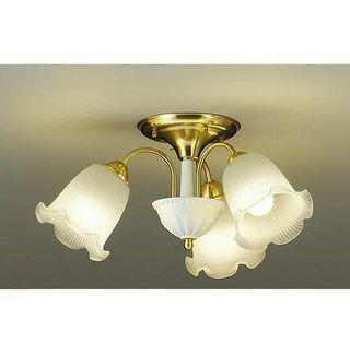 シャンデリア 3灯 LED ゴールド 天井照明 照明器具