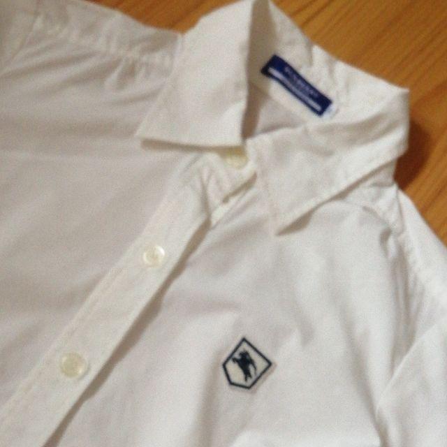 BUBRBERRYhorse刺繍人気白シャツ(BURBERRY(バーバリー) ) - フリマアプリ&サイトShoppies[ショッピーズ]