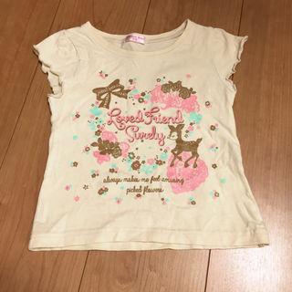 半袖Tシャツ100cm/バンビ