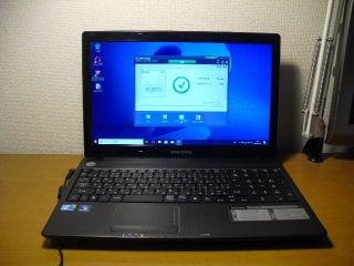 ノートパソコン Windows10