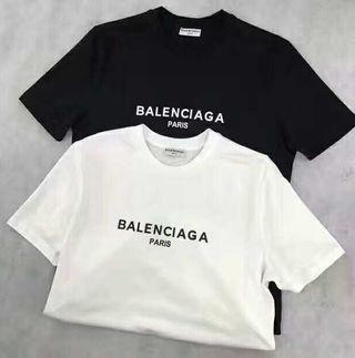 夏新品 バレンシアガ 人気Tシャツ 半袖 男女兼用