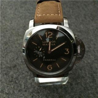 人気腕時計 パネライ 手巻き 直経43mm