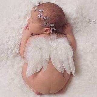 ベビー フォトアイテム 天使の羽
