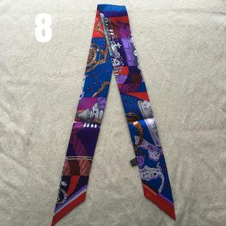 シルク リボンツイリー スカーフ #8カヴァッレリアデトリエ