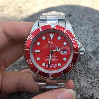 ロレックスROLEXブマリーナーCocaCola腕時計