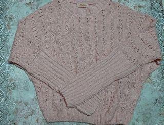 Magenderピンクセーター