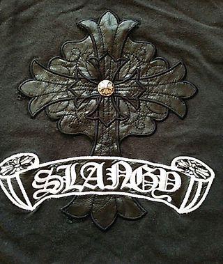 SLANGYクロスTシャツ