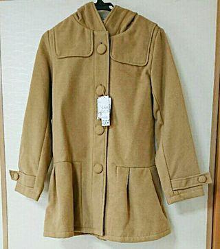 ワンアフターアナザーナイスクラップキャメル色コート