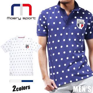 モエリーメンズポロシャツ