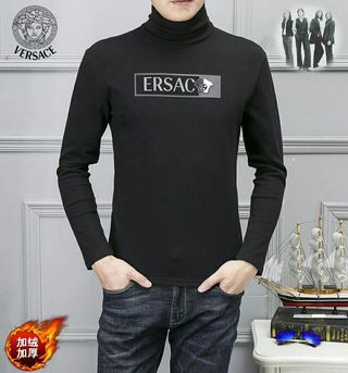 国内発送Versace防寒厚手スウェットトレーナー