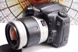 3日間限定送料無料EOS 20D レンズキット
