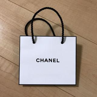 シャネル紙袋