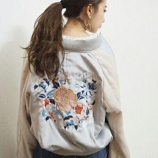 MURUA 刺繍スカジャン