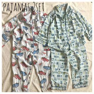 キッズパジャマ2点セット