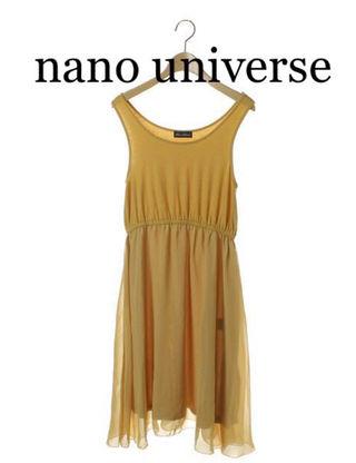 nano universe【新品同様】フレアスカートワンピ
