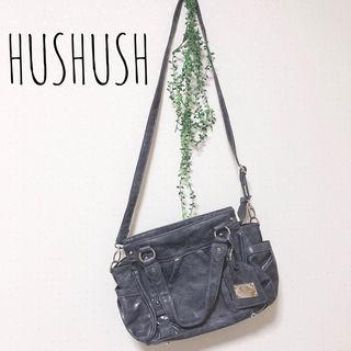 HUSHUSH ショルダーバッグ