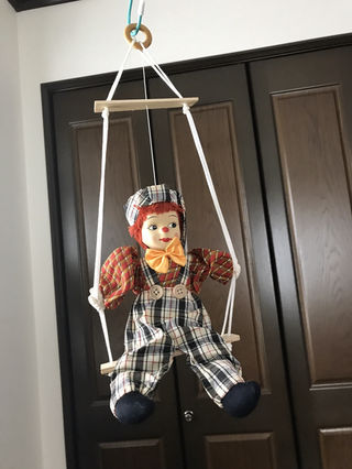 レトロ可愛い操り人形