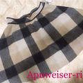 Apuweiser-riche【新品同様】チェックスカート