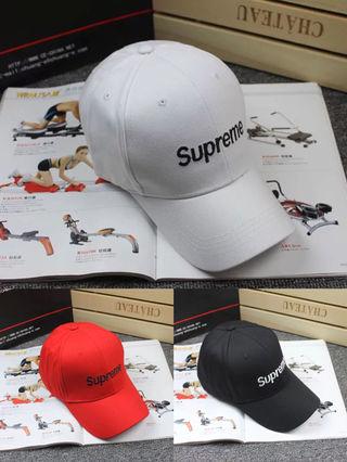 2個セット supreme  今季新作 キャップ   帽子