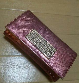 ASH&DIAMONDS クロコダイル長財布
