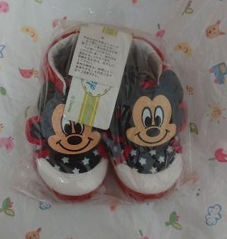 ミッキー子供用靴