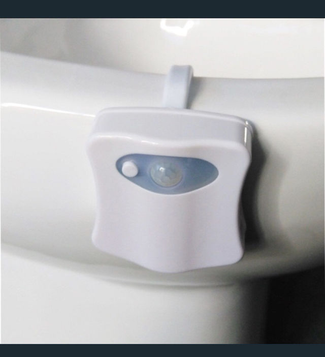 トイレ LED イルミネーション