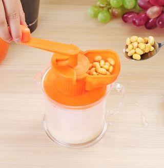 新品 多機能ミニ ジューサー豆乳 ハンドスクイーザー