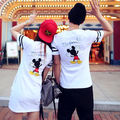 ペアルックカップル ミニワンピ Tシャツ2枚セットのお値段