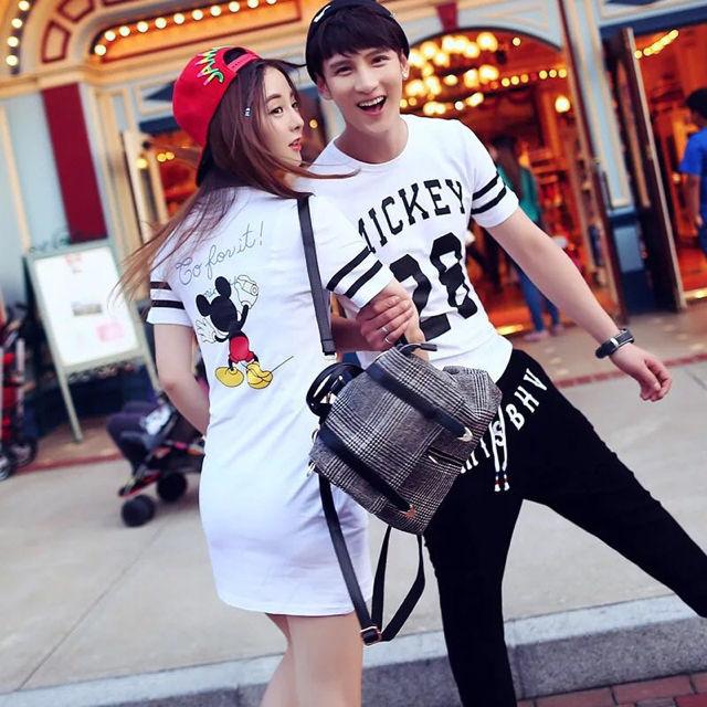 ペアルックカップル ミニワンピ Tシャツ2枚セットのお値段 - フリマアプリ&サイトShoppies[ショッピーズ]
