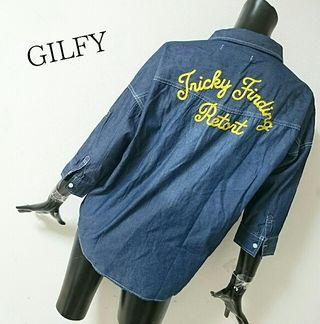 GILFY*デニムシャツ