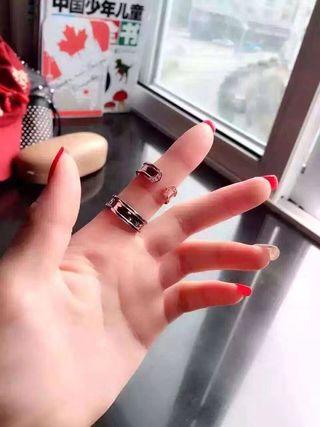 美品 経典可愛い指輪リング  SV925 国内発送 H55