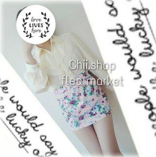 着画 グレイル 花柄ミニスカート