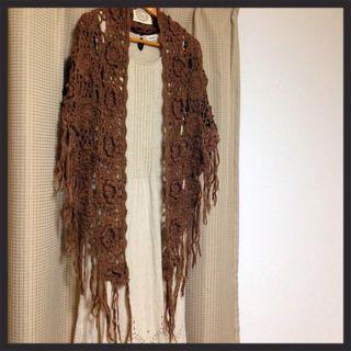かぎ針編みストール