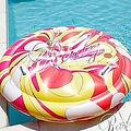 新品Rady フラワーマーブル浮き輪