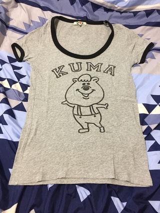 WC くまたん Tシャツ